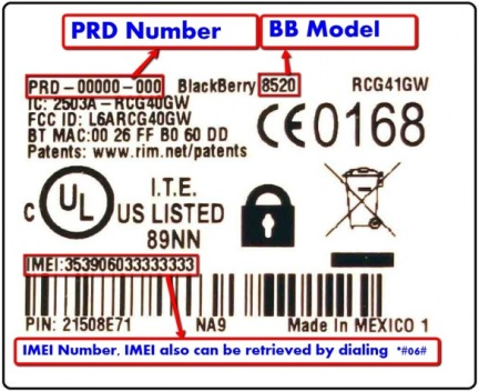 how_to_get_prd_number_imei_model_blackberry