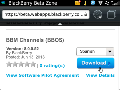 BBM Channels Beta 8.0.0.52